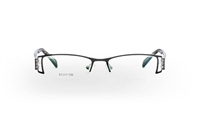 ODYSSEY OD-1001 Stainless Steel/ZYL Half Rim Unisex Optical Glasses
