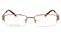 Siguall 6028 Stainless Steel Semi-rimless Unisex Optical Glasses