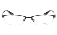 EFASHION E1189 Stainless Steel Unisex Semi-rimless Square Optical Glasses