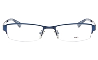 EFASHION E1203 Stainless Steel Unisex Semi-rimless Square Optical Glasses