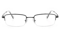 2120 Unisex Semi-rimless Square Optical Glasses