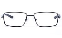 Vista Sport 9105 Stainless Steel Mens Square Full Rim Optical Glasses