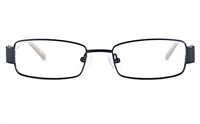 Vista Kids 5811 Stainless Steel/ZYL  Child Square Full Rim Optical Glasses