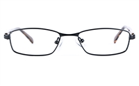 Vista Kids 5814 Stainless Steel/ZYL  Child Square Full Rim Optical Glasses